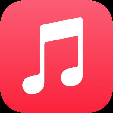 アプリアイコンAppleMusic