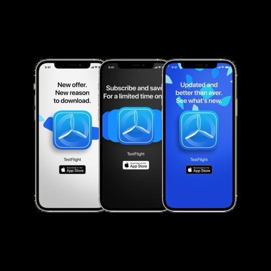 App Store Promote Multi Example In Device | App Marketing News | Nuevas herramientas de marketing de Apple
